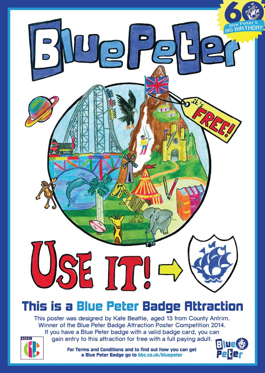 Blue Peter Attraction Poster