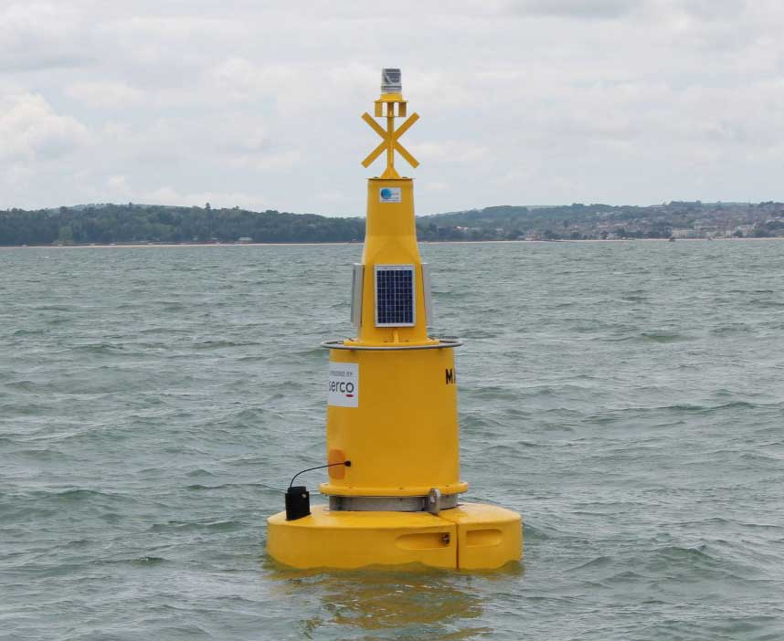 Marker buoy for the Mary rose wreck site