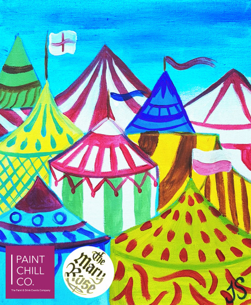 Cowdray Close Up paint party