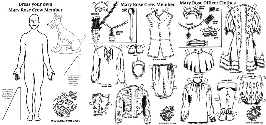 Dress Your Own Crew Member