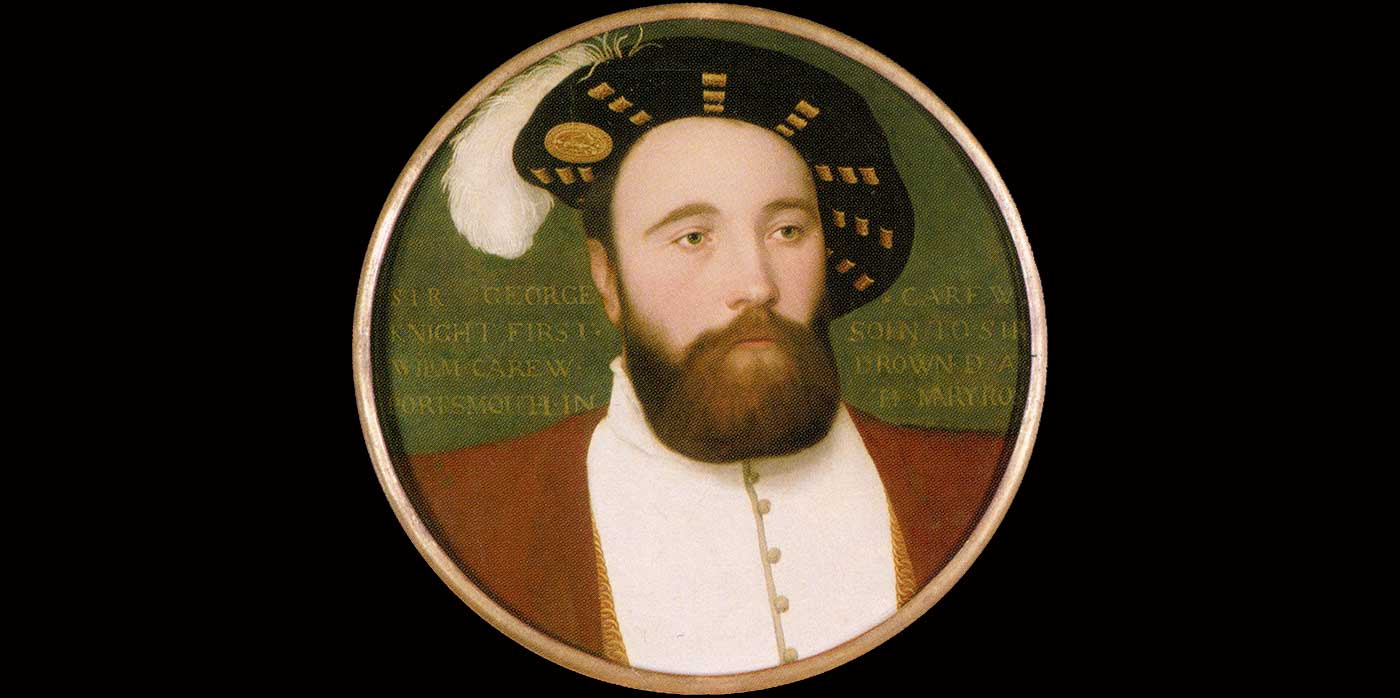 George Carew Painting By Holbein