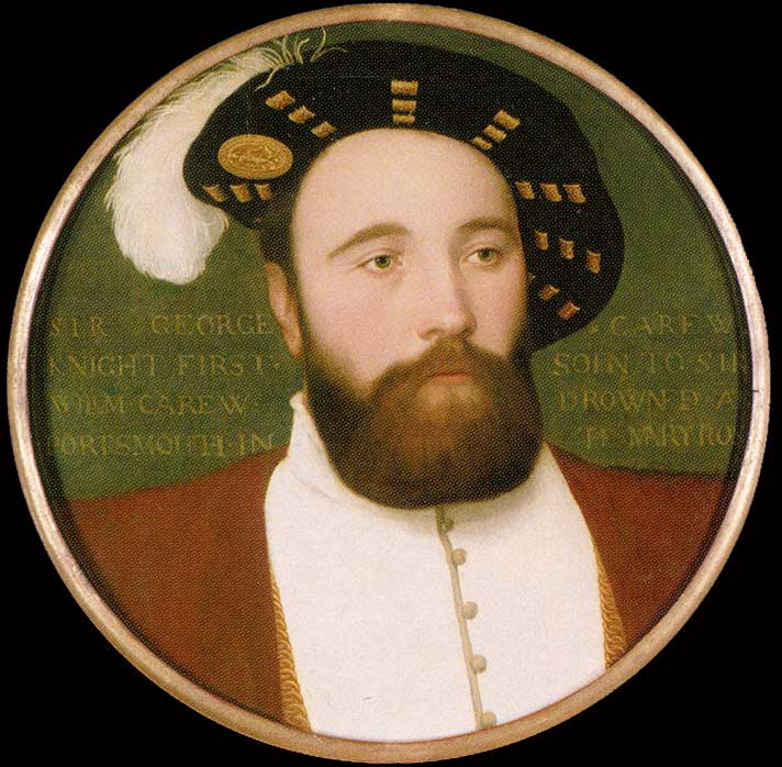 George Carew by Hans Holbein the Younger