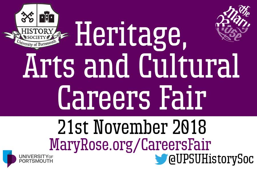 Heritage, Art and Cultural Careers fair 2018