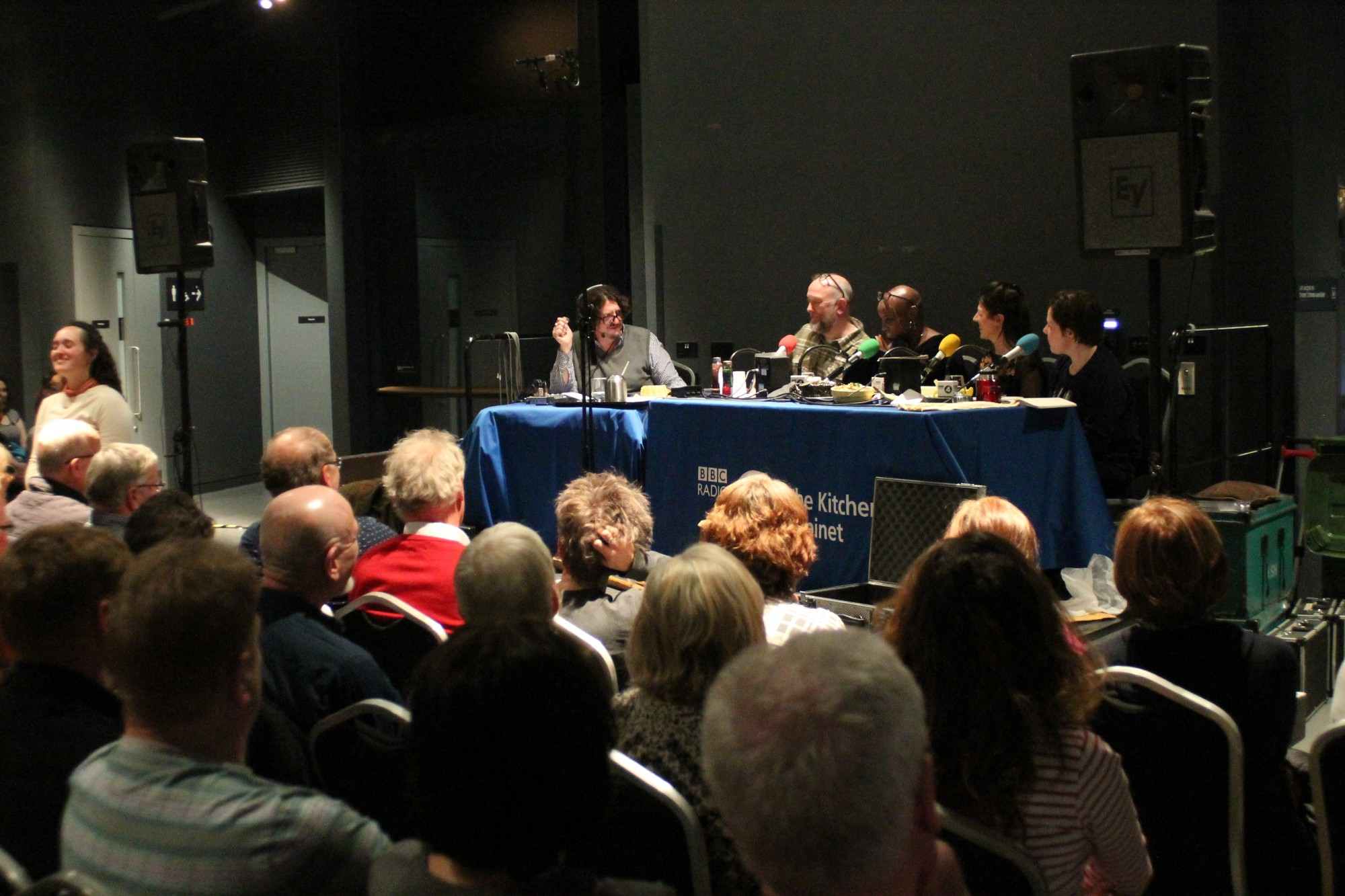 "BBC Radio 4 recording of ""The Kitchen Cabinet"""