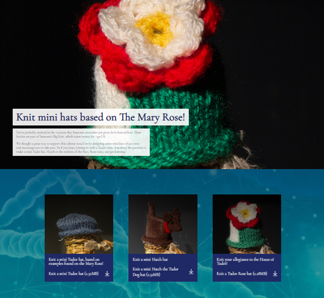 Website s/shot Knitted Hats Image