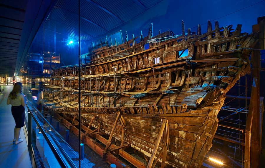Looking At The Mary Rose