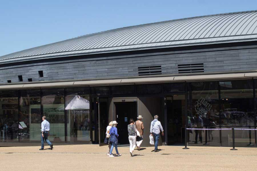 Mary Rose Museum Entrance