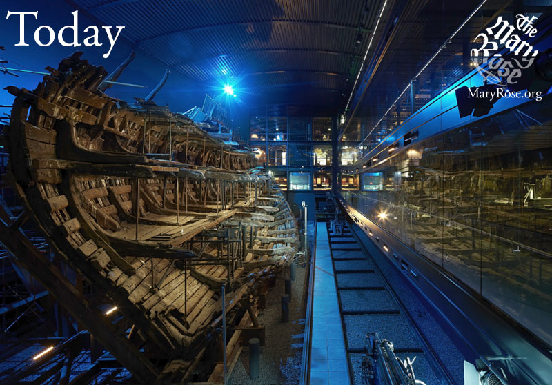The Mary Rose Today