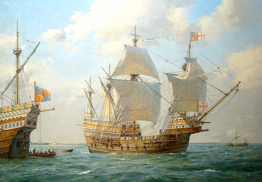 The Mary Rose By Geoff Hunt