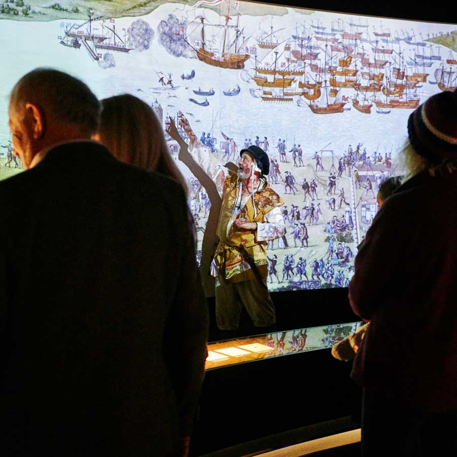 Guided Tours of the Mary Rose