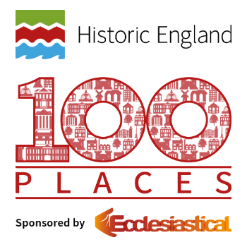 Historic England 100 places logo